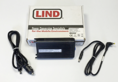 Lind CF-LND8024FD Panasonic Toughbook 12-32 Vdc Car Charger - New